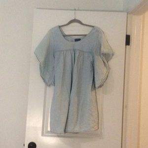 Chambray Lucky Brand blouse